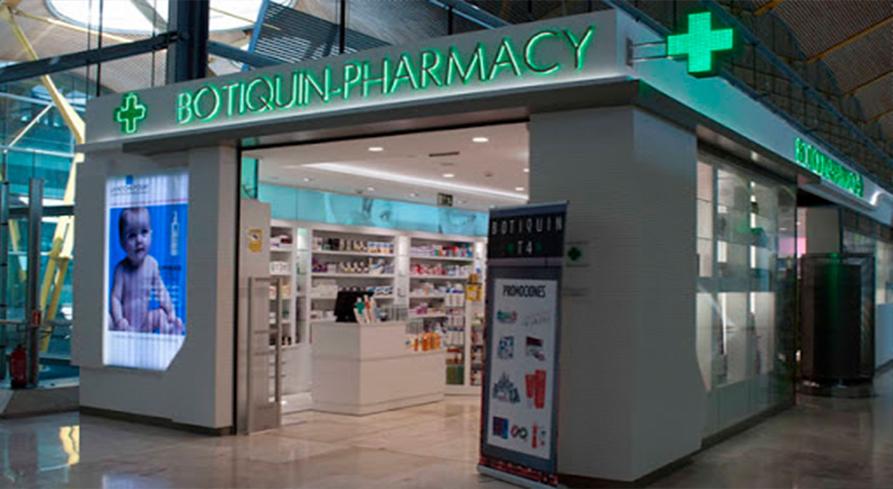 Farmacia T4 Aeropuerto de Madrid